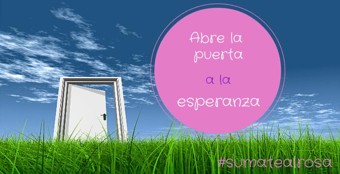 campaña contra el cáncer de mama #sumatealrosa