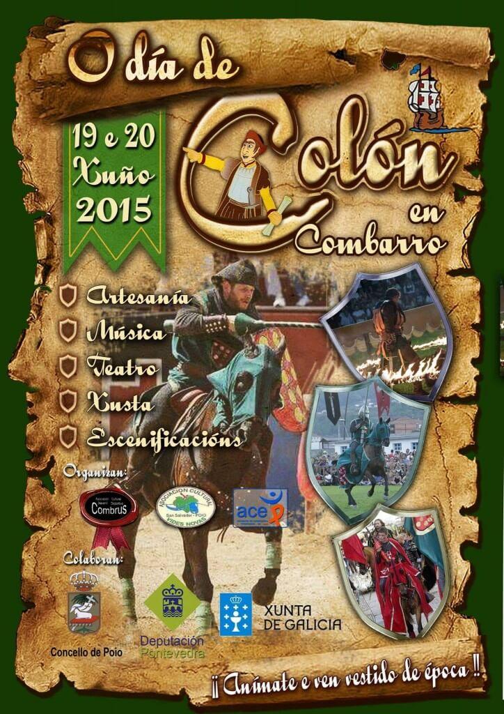 cartel O día de Colón