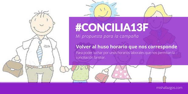 #Concilia13F mi propuesta