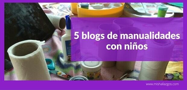 blogs de manualidades con niños