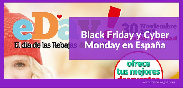 black friday y cyber monday en Espana