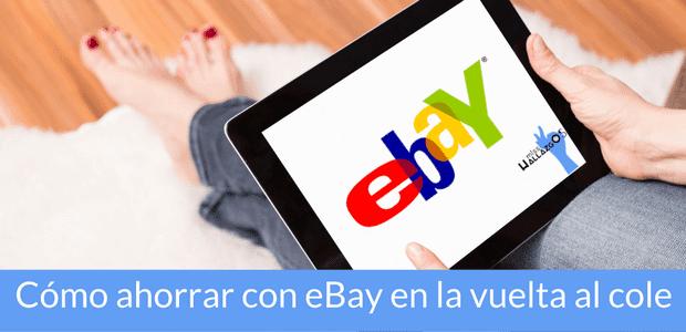 vuelta al cole con eBay