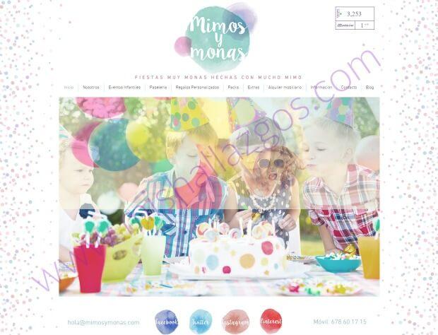 fiestas personalizadas mimosymonas