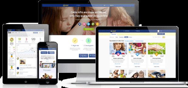 Little Hero app refuerzo positivo para niños