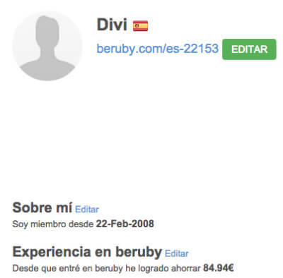 perfil beruby