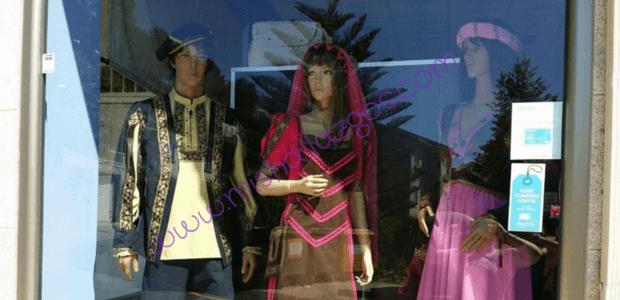 alquiler trajes O día de Colón