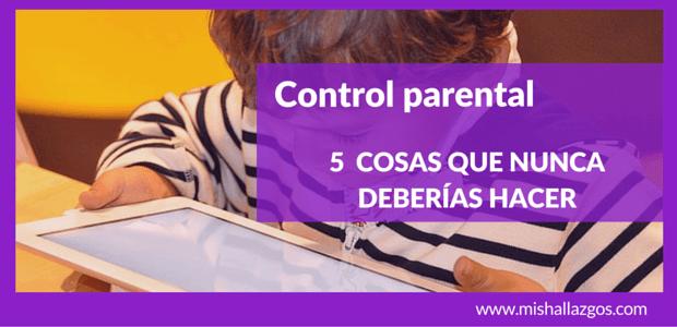 control parental mis hallazgos portada