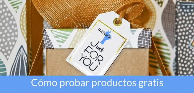 como probar productos gratis