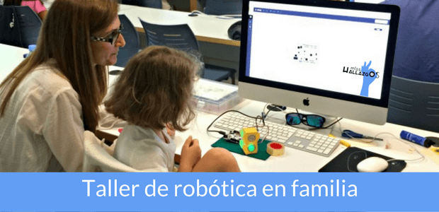 taller de robótica en familia